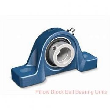 0.9375 in x 3.69 to 4-1/2 in x 1.62 in  Dodge P2BSXR015 Pillow Block Ball Bearing Units