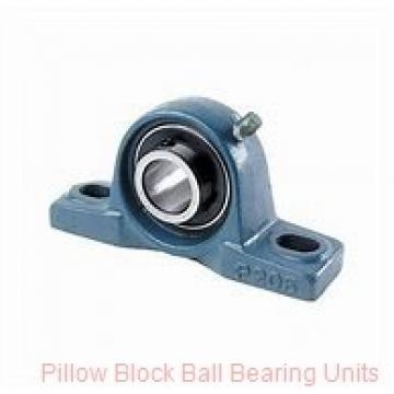 20 mm x 85.9 to 106.4 mm x 1-9/16 in  Dodge P2BSXR20M Pillow Block Ball Bearing Units