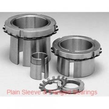 Bunting Bearings, LLC CB647248 Plain Sleeve & Flanged Bearings