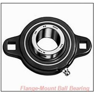 45 mm x 4.1340 in x 5.3940 in  SKF FY 45 TF/W64 Flange-Mount Ball Bearing Units