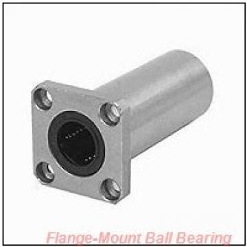 1.0000 in x 3.8906 in x 4.9062 in  NTN UELFLU205 100 D1 Flange-Mount Ball Bearing Units