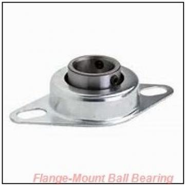 1.4375 in x 5.1250 in x 6.3438 in  NTN UCFL 207-107D1 Flange-Mount Ball Bearing Units