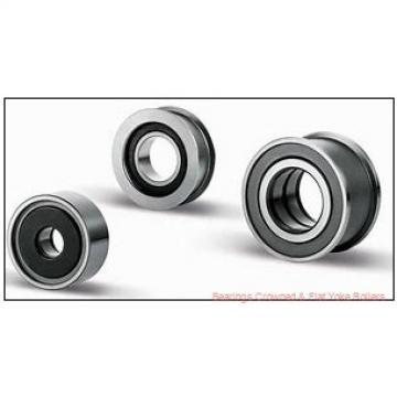 Koyo NRB NATR6DZ Bearings Crowned & Flat Yoke Rollers