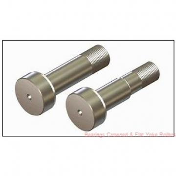 Koyo NRB NA22/6.2RS.DZ Bearings Crowned & Flat Yoke Rollers