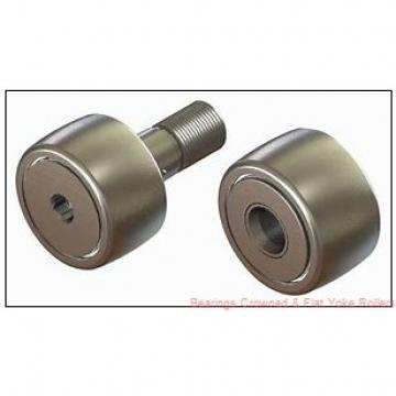 McGill MCYR 20 X Bearings Crowned & Flat Yoke Rollers