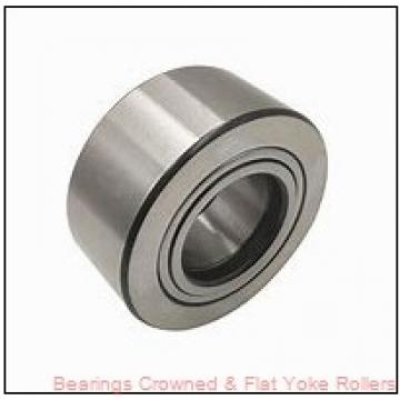 RBC SRF75 Bearings Crowned & Flat Yoke Rollers